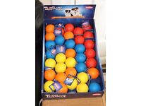 Nobby Rubber Ball with Paws - makes whistling sound when squeezed (box of 35 balls) - new RRP £96