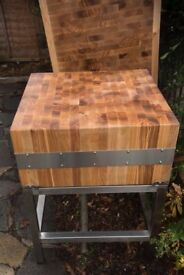 Two Commercial butchers blocks for sale