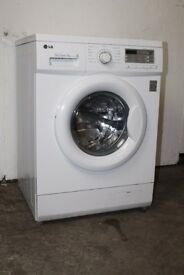 LG 7kg 1200 Spin Washing Machine Digital Display Excellent Condition 6 Month Warranty