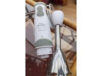 Rosemary Conley Hand Blender with various attachments