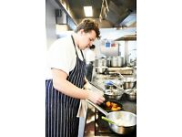 Line Chef up to £10 p/h + generous service charge + training + promotions