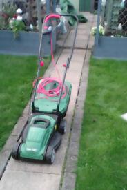 Qualcast 1400 watt lawnmower, new in the box complete