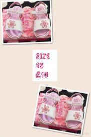 Lelli Kelly sandals size 25