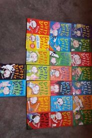 Complete collection of Dirty Berty books