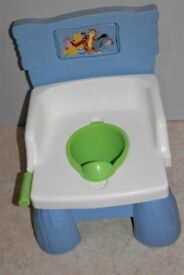 Disney Winnie the Pooh Children's Toilet Training Seat