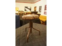 Used old drum or instrument swivel stool