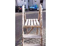 Vintage Wooden Ladder FREE DELIVERY CENTRAL EDINBURGH