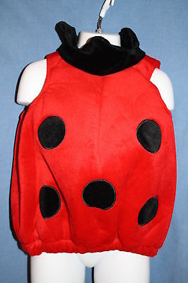 LADYBUG Walmart Toddler 24 Months Halloween Costume Red Black 2-Piece Wings](Walmarts Halloween Costumes)