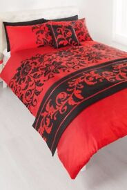 Red & Black Luxury Duvet Set