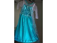 Frozen Elsa Fancy Dress Party 5-6 years old