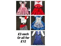 Girls Fancy Dress Bundle Age 4/7 years