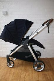 Mamas and Papas Armadillo Flip XT stroller pushchair Navy blue CAN POST
