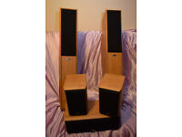 Eltax Hollywood Surround Sound 5 Speakers - Front/Centre/Surround