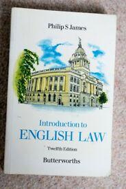 4 Misc. Law Textbooks #3