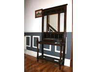 Antique Victorian Multifunctional Hallway Unit