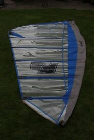 Arrows F2 Tomahawk windsurf sail, 6.8 metres