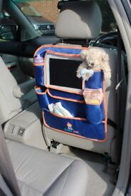 BRAND NEW BabyON Back Seat Organiser with iPad Tablet Holder for Supercool Mums, Kids– Universal Fit