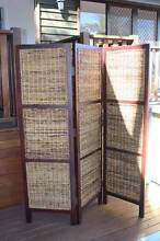 Antigua Folding Screen - 3 panel, ex Far Pavillions,Fab Condition Eatons Hill Pine Rivers Area Preview