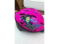 Girls bike helmet size 48-52 cm