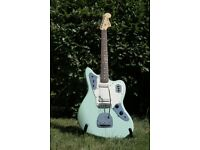 Squier Vintage Modified Jaguar Guitar in Surf Green
