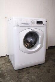 Hotpoint 8kg 1600 Spin Washing Machine Digital Display Excellent Condition 6 Month Warranty