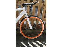 Special Offer Aluminium Alloy Frame Single speed road bike fixed gear racing fixie bicycle f5d
