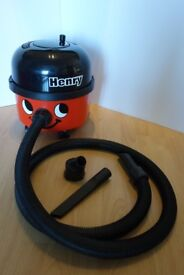 Henry Hoover - Distinctive Smiling Face Vacuum - Used - Good Condition – Carry Bag+Cleaning Nozzles
