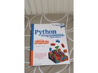 Python programming 3rd ed. £15 ONO