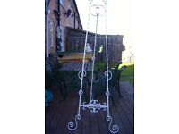 wedding / display easel solid wrought iron hand crafted