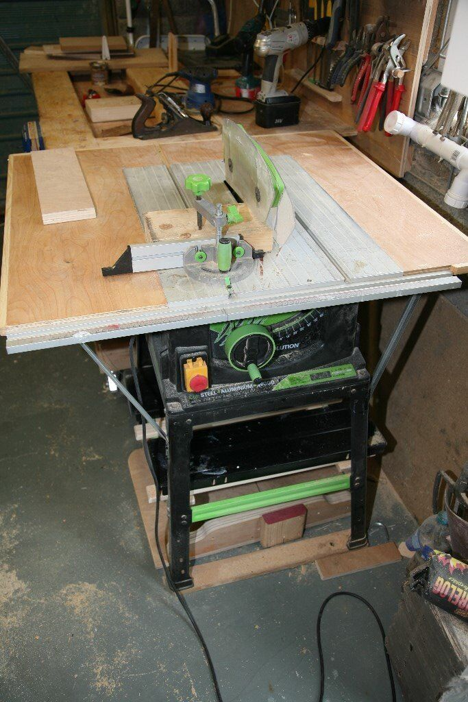 Table Saw Evolution Fury 5 10inch 255mm With Extention