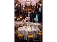 Wedding Decorations - Tall Floral Arrangements x 5