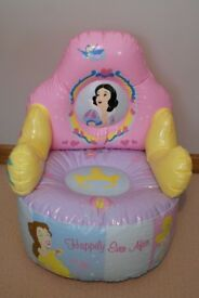 DISNEY princess air armchair (for toddlers)