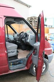2002 Ford Transit Mid Wheelbase 11 month MOT £850