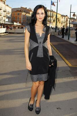 Beautiful Chanel 10P Little Black Classic Dress NEW 36 -