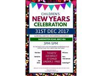 Children's New Years Celebration Tickets