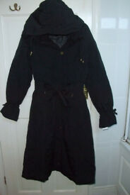 Black winter coat (NEW)