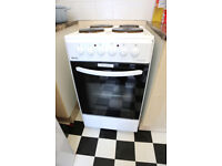 Bexel BE50W 50cm Freestanding White Electric Single Cavity Cooker [Energy Class A+]