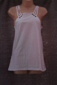 White Vest top for sale in Barrhead - NEW WITH TAGS - ONLY £10