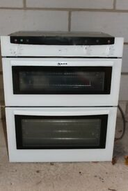 NEFF U1722 Built In Oven with Cooker Hood