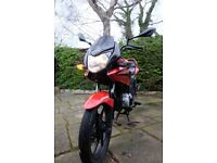 RED HONDA CBF-125 2011 125cc (Well Maintained New Pirelli Tyres, Battery, Chain & More)