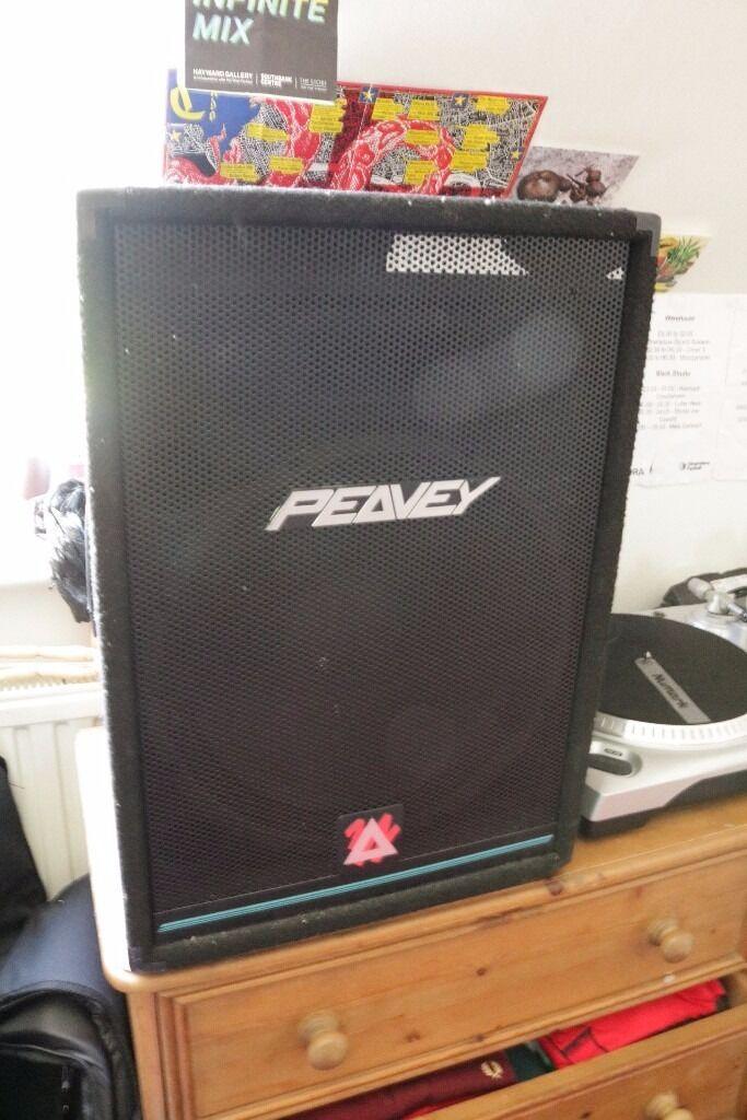 Peavey PA speaker