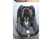 Maxi-cosi Cabriofix car seat birth-13kg great condition
