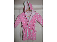 Girl dressing gown 2-3 years old