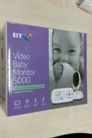 """New & Sealed BT Video Baby Monitor 5000 - 2.8"""" Display up to 250m Range"""