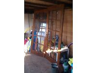 pair of oak? internal doors