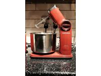 Morphy Richards Accents folding stand mixer - Red - 400404