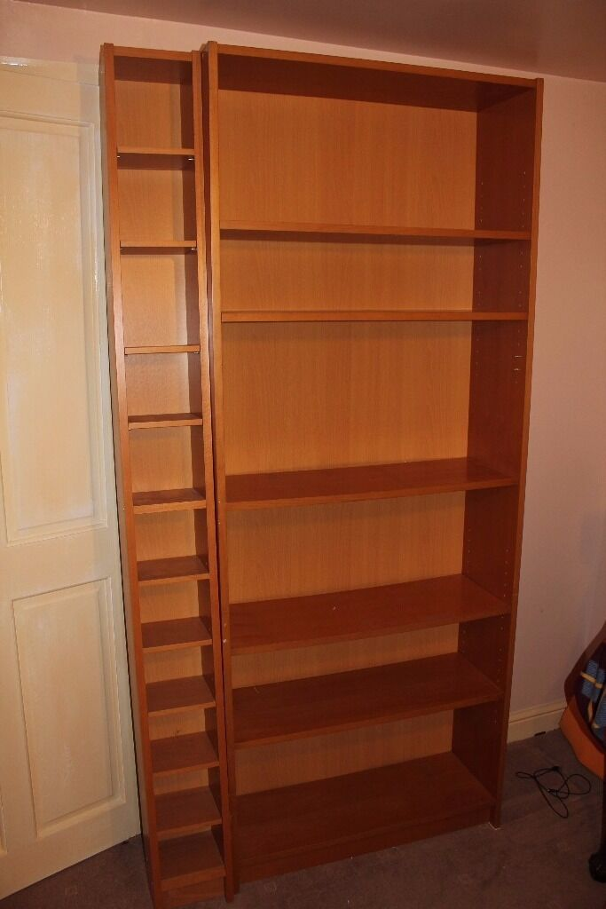 Bookcase and CD unit for sale at30in Knottingley, West YorkshireGumtree - Bookcase and CD holder. Sturdy unit with moveable shelves. The bookcase is 2 metres high x 80cm wide and 28cm deep. The CD unit is 2 metres high x 20cm wide and 17cm deep. I've used it with the CD unit fastened to the book case but it could be used...