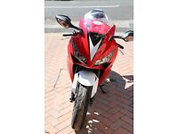 Low mileage Honda Fireblade very good condition