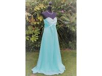 mint green prom/evening dress