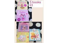 5 x books